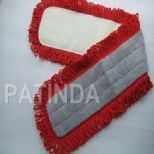 microfiber stringed dusting mop cloth